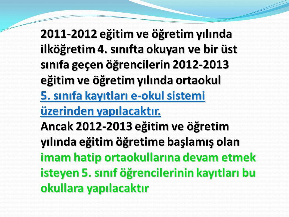 2011-2012 eğitim ve öğretim yılında ilköğretim 4