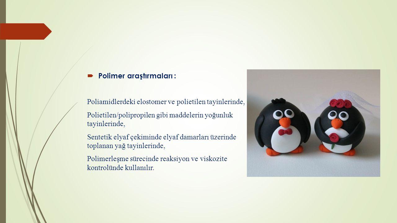 Polimer araştırmaları :