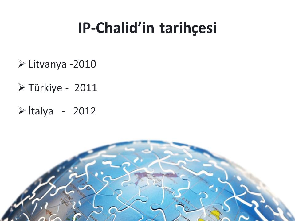 IP-Chalid'in tarihçesi