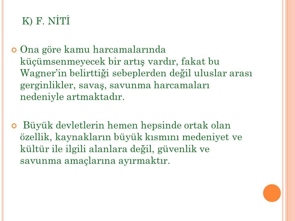 K) F. NİTİ