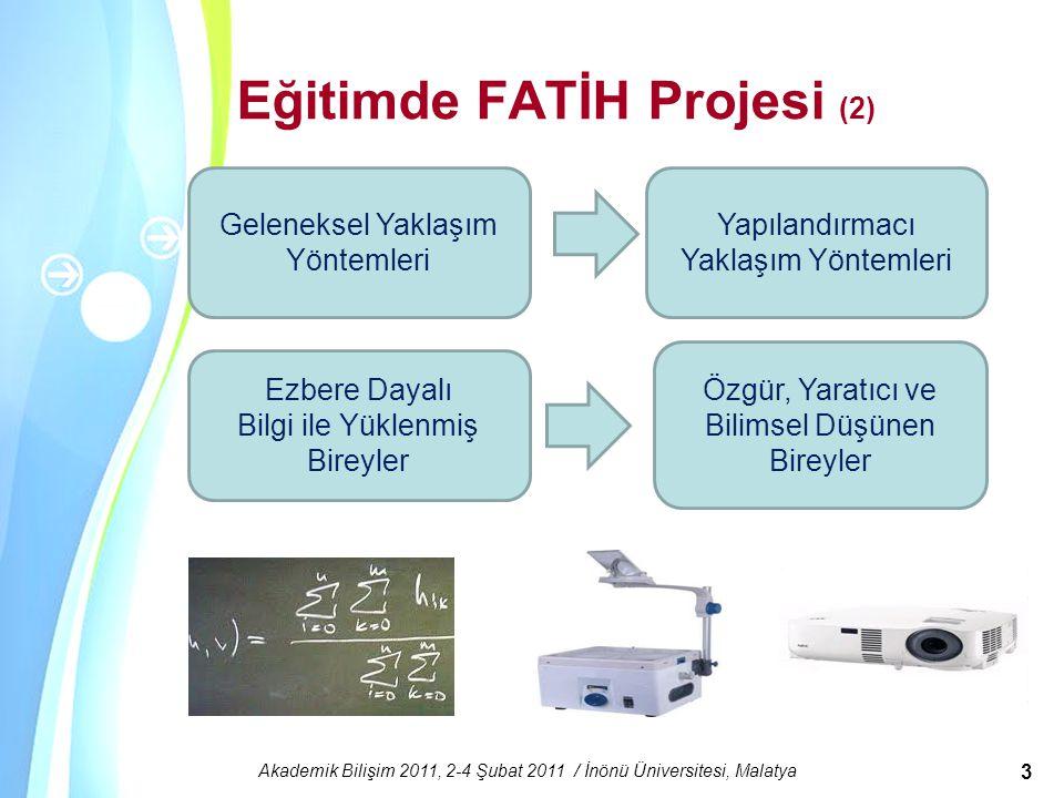 Eğitimde FATİH Projesi (2)