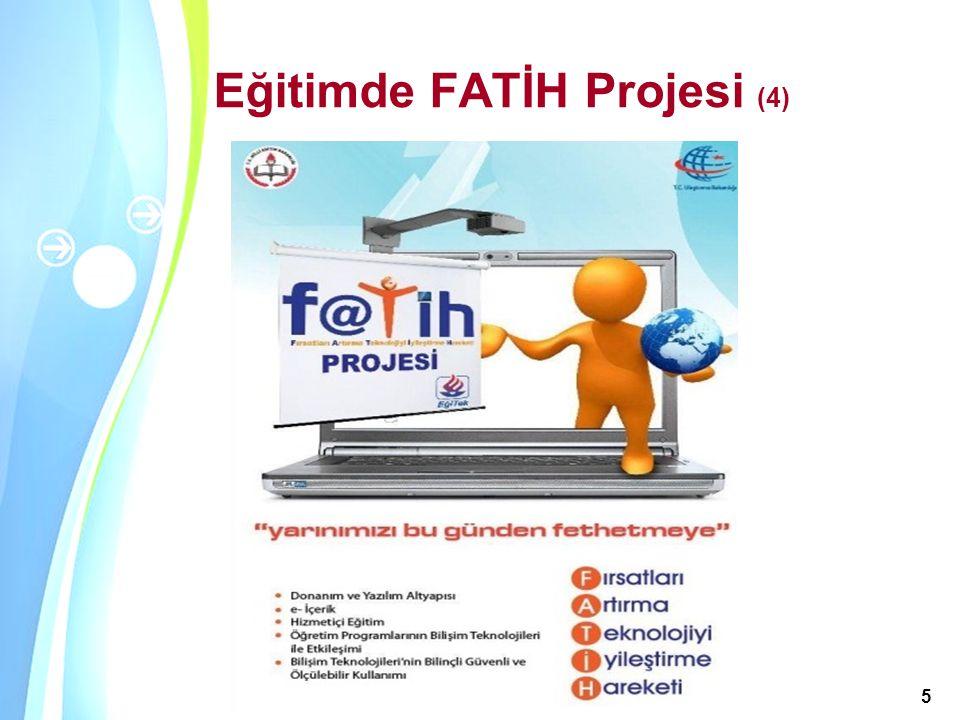 Eğitimde FATİH Projesi (4)
