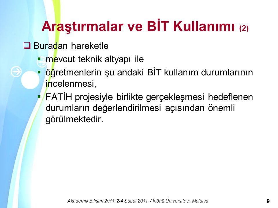 Araştırmalar ve BİT Kullanımı (2)
