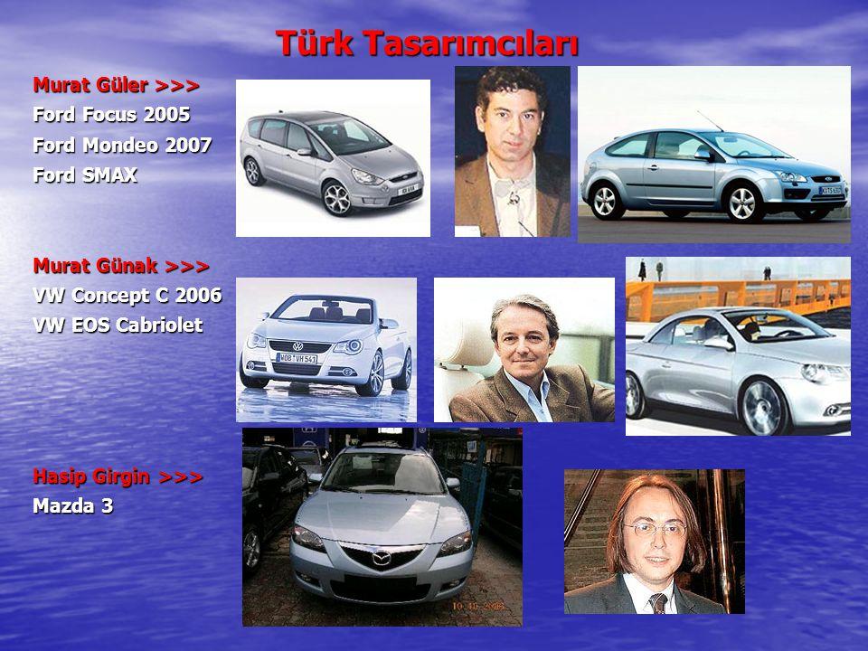 Türk Tasarımcıları Murat Güler >>> Ford Focus 2005