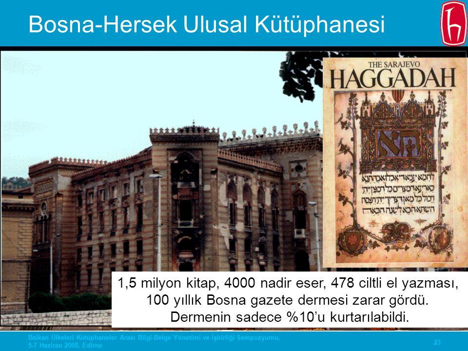 Bosna-Hersek Ulusal Kütüphanesi