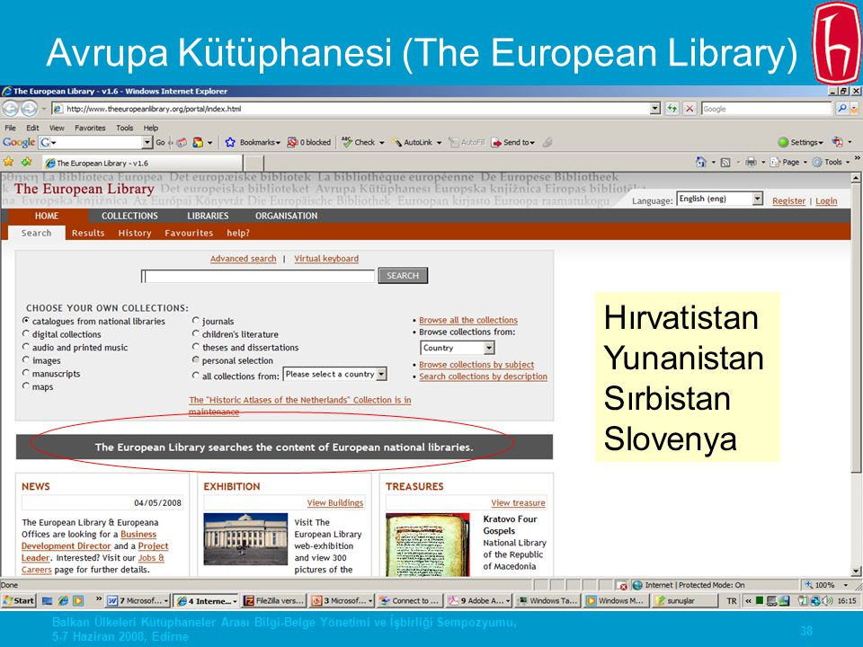 Avrupa Kütüphanesi (The European Library)