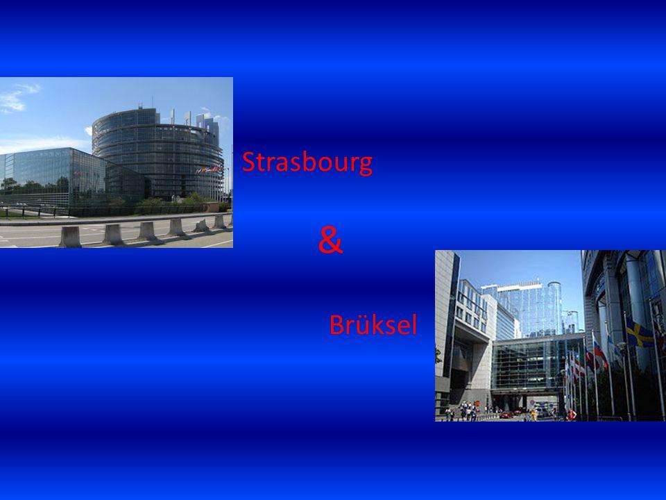 Strasbourg Brüksel &