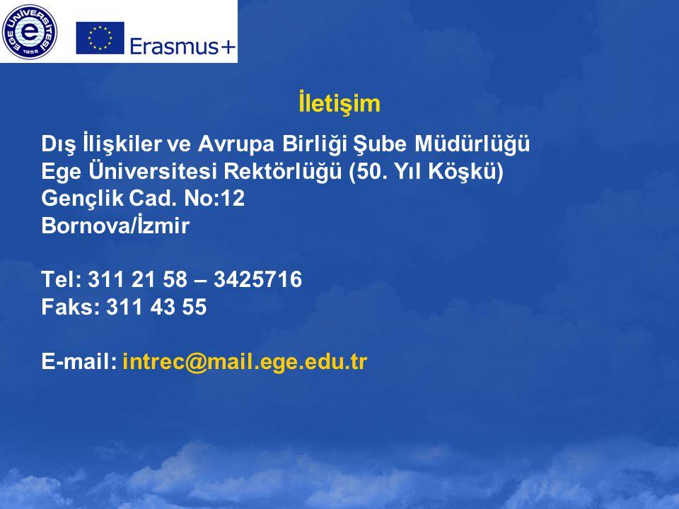 İletişim Dış İlişkiler ve Avrupa Birliği Şube Müdürlüğü