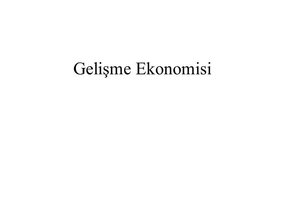 Gelişme Ekonomisi