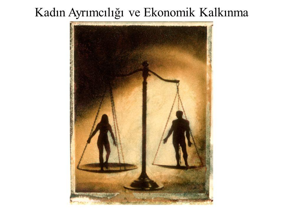 Kadın Ayrımcılığı ve Ekonomik Kalkınma