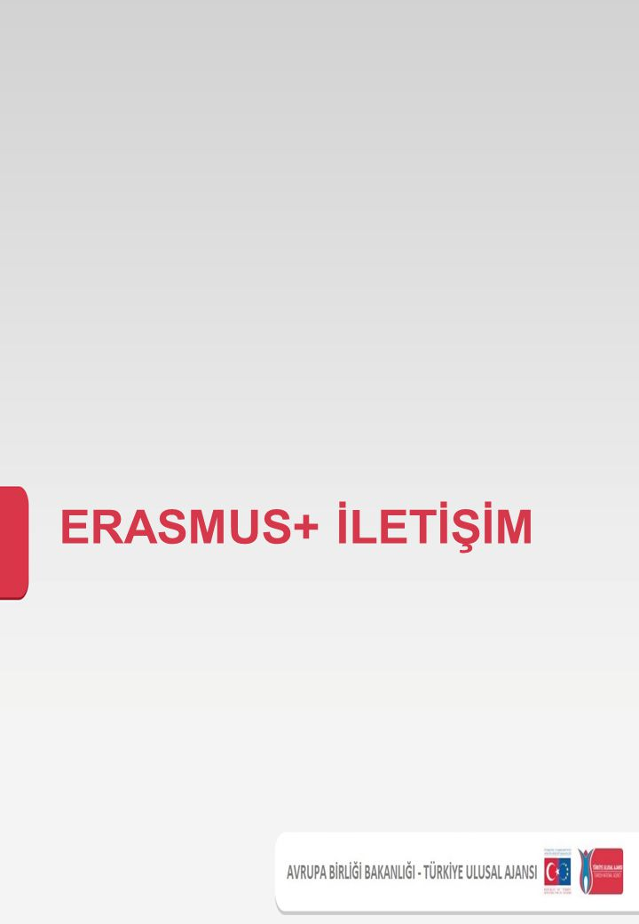 ERASMUS+ İLETİŞİM