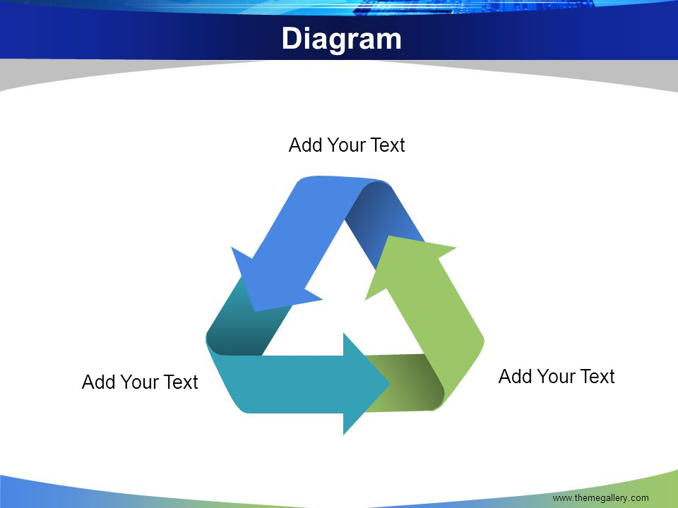 Diagram Add Your Text Add Your Text Add Your Text www.themegallery.com