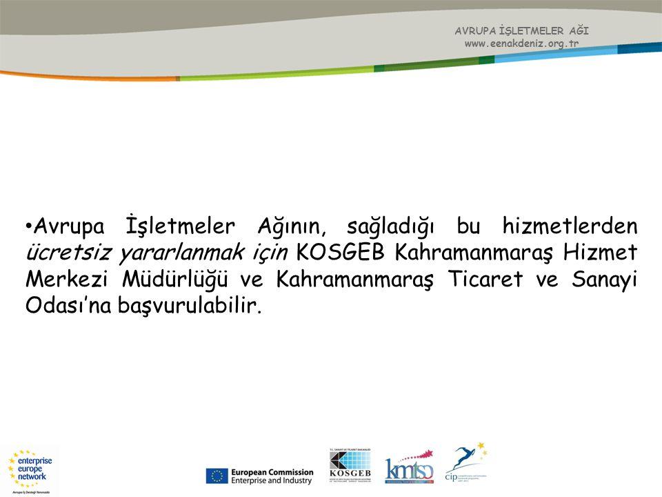 AVRUPA İŞLETMELER AĞI www.eenakdeniz.org.tr.