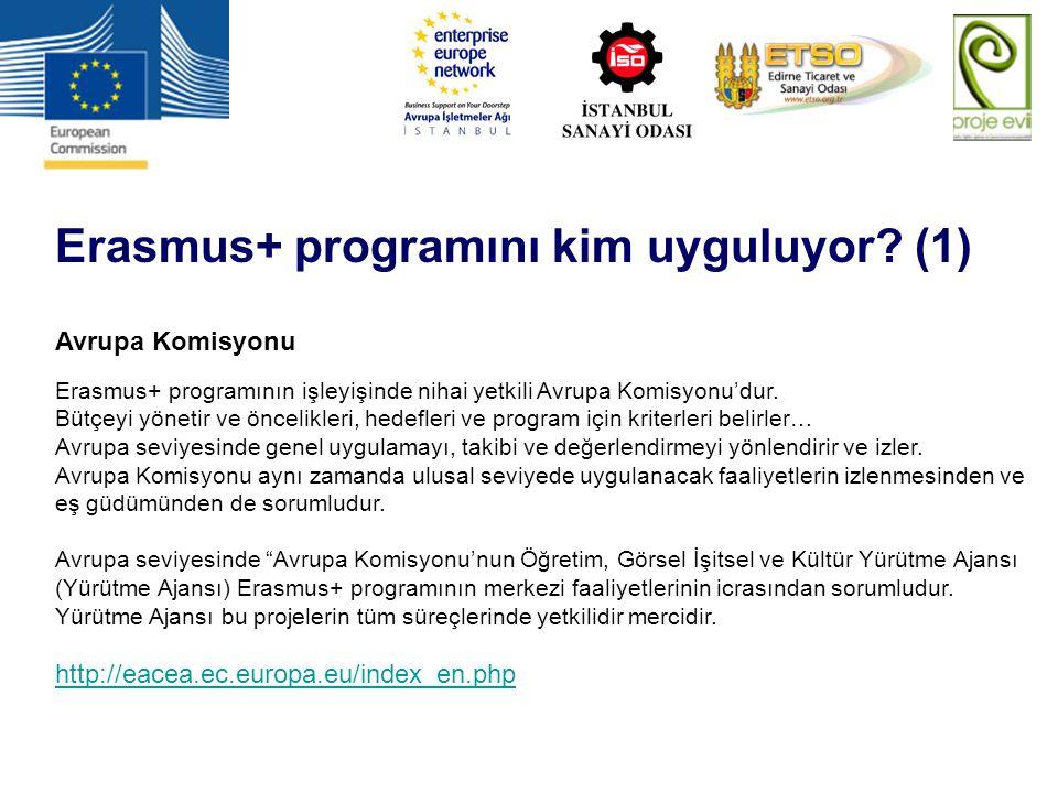 Erasmus+ programını kim uyguluyor (1)