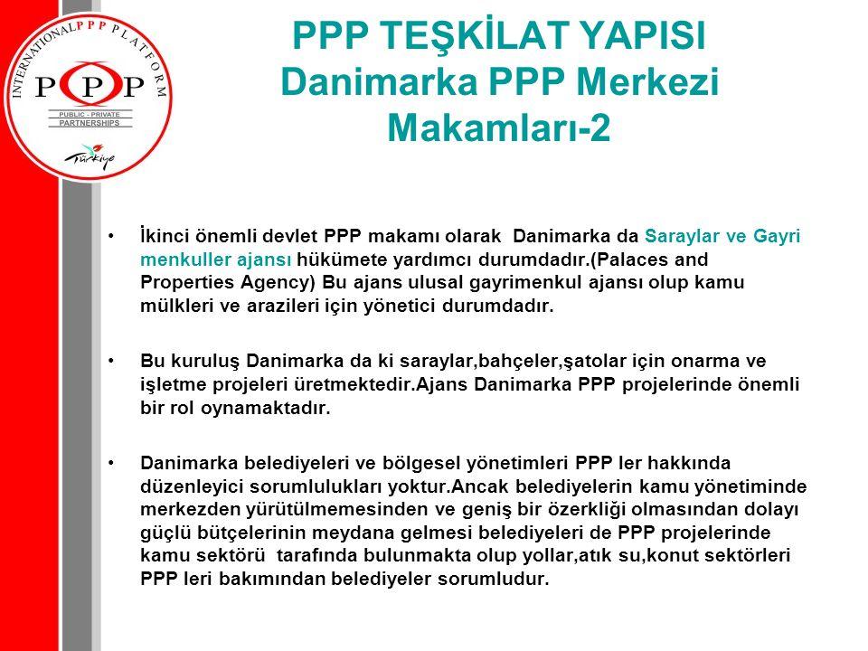 PPP TEŞKİLAT YAPISI Danimarka PPP Merkezi Makamları-2