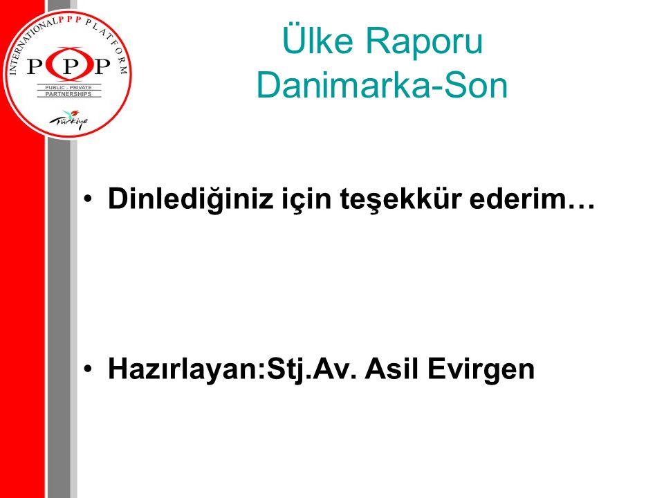 Ülke Raporu Danimarka-Son