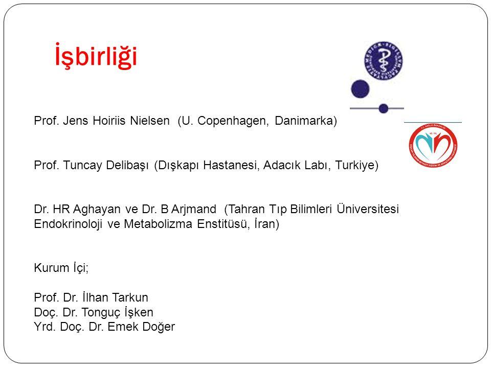 İşbirliği Prof. Jens Hoiriis Nielsen (U. Copenhagen, Danimarka)