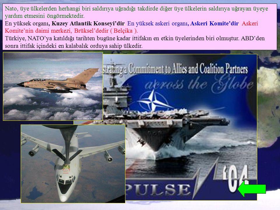 Nato, üye ülkelerden herhangi biri saldırıya uğradığı takdirde diğer üye ülkelerin saldırıya uğrayan üyeye