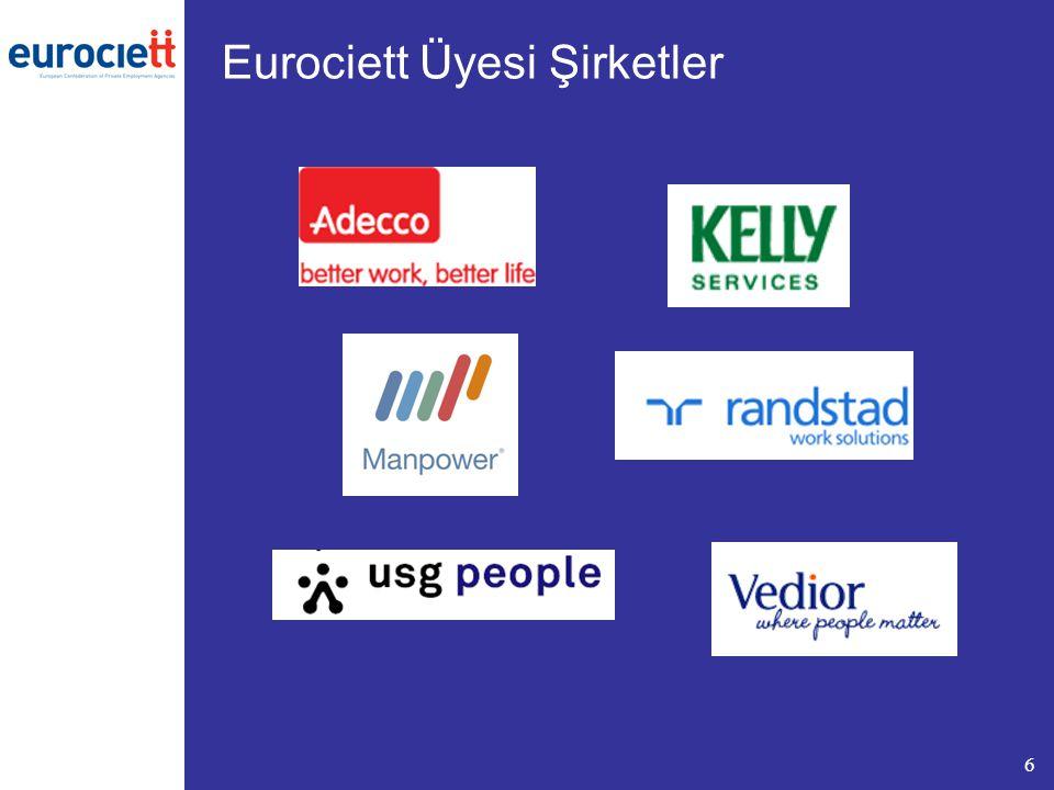 Eurociett Üyesi Şirketler