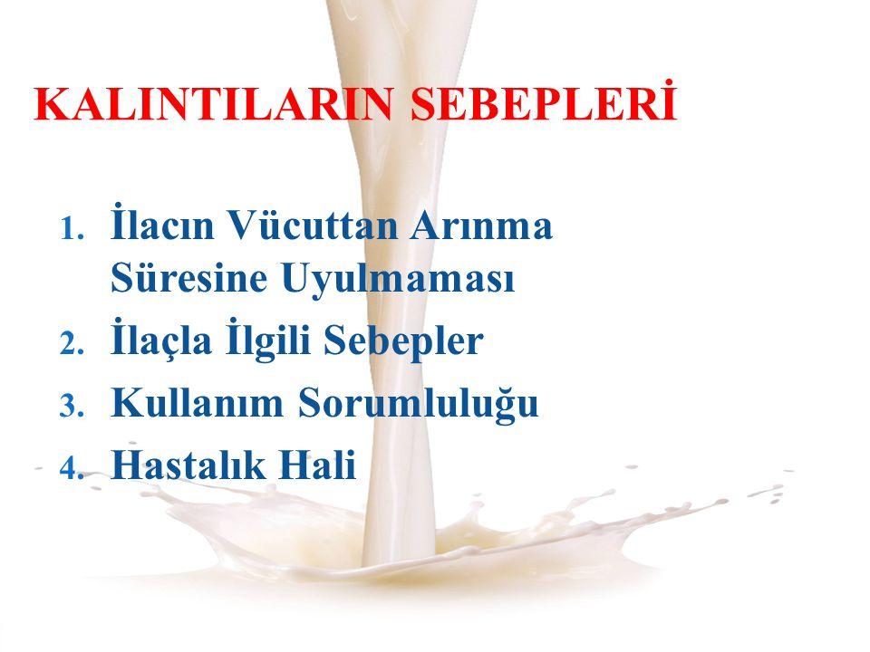 KALINTILARIN SEBEPLERİ