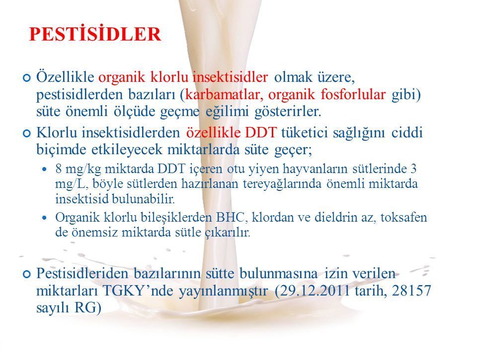PESTİSİDLER