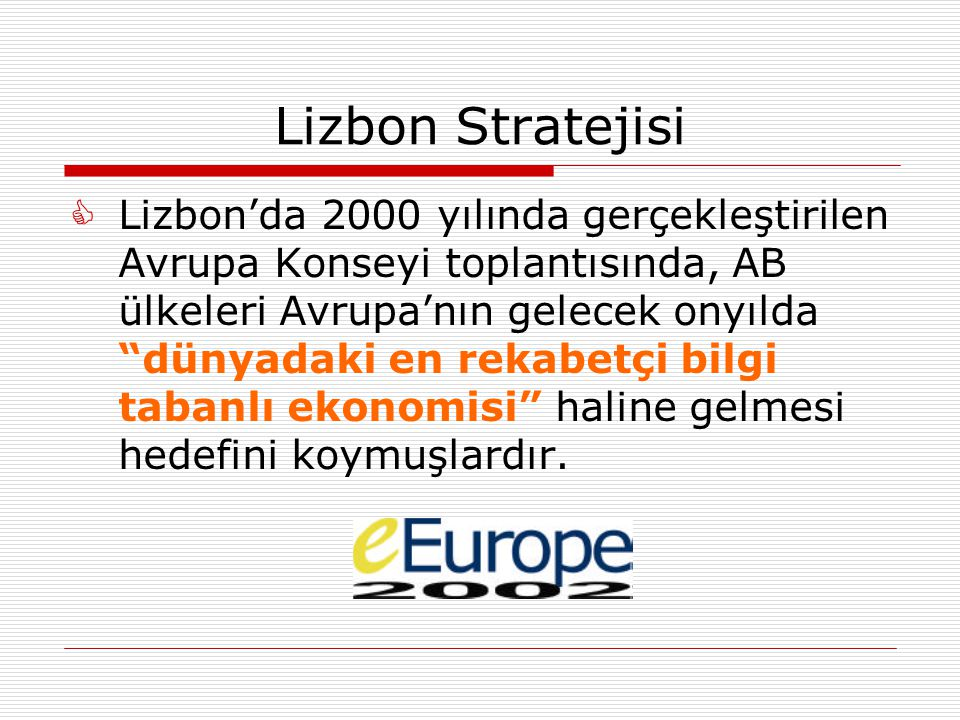Lizbon Stratejisi