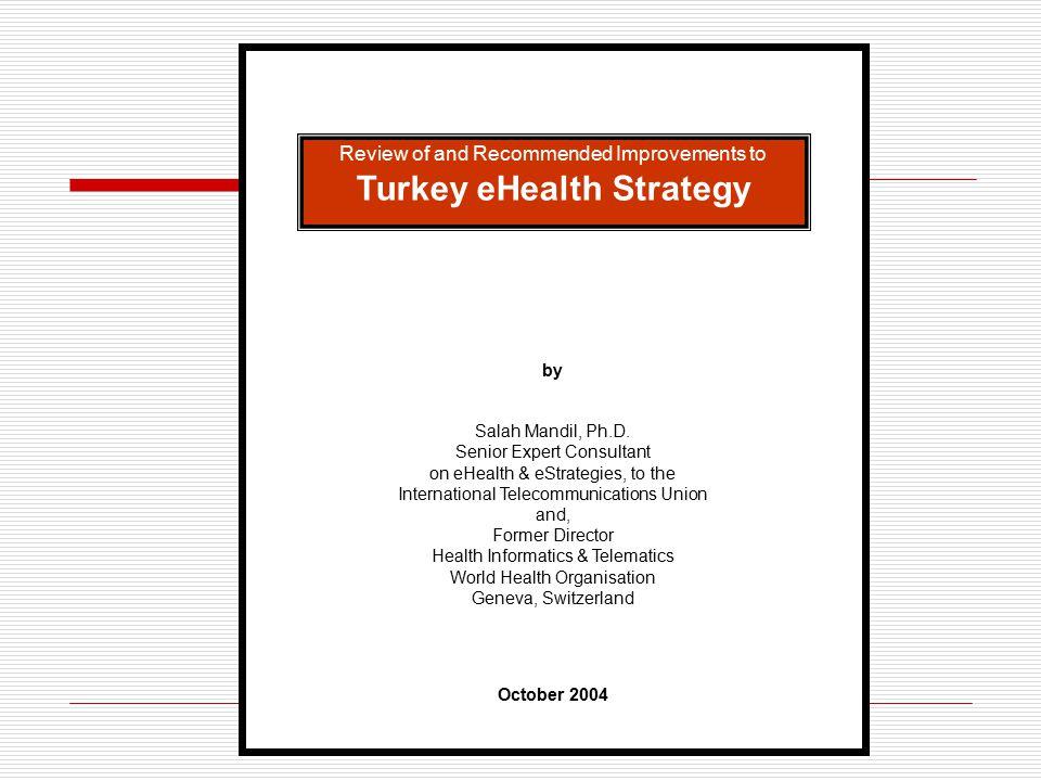 Turkey eHealth Strategy