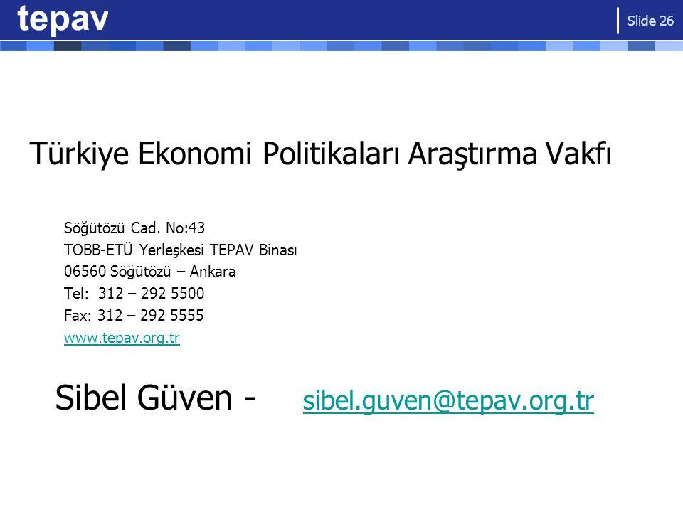 Sibel Güven - sibel.guven@tepav.org.tr