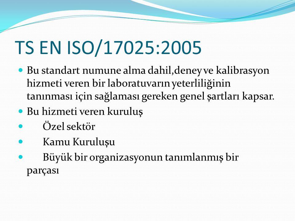 TS EN ISO/17025:2005