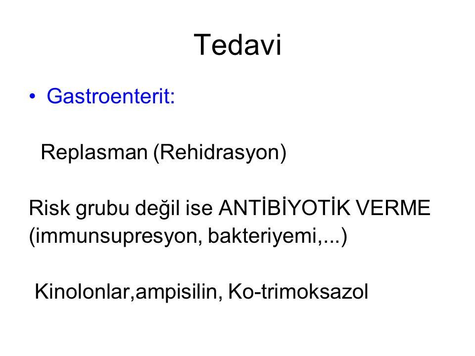 Tedavi Gastroenterit: Replasman (Rehidrasyon)