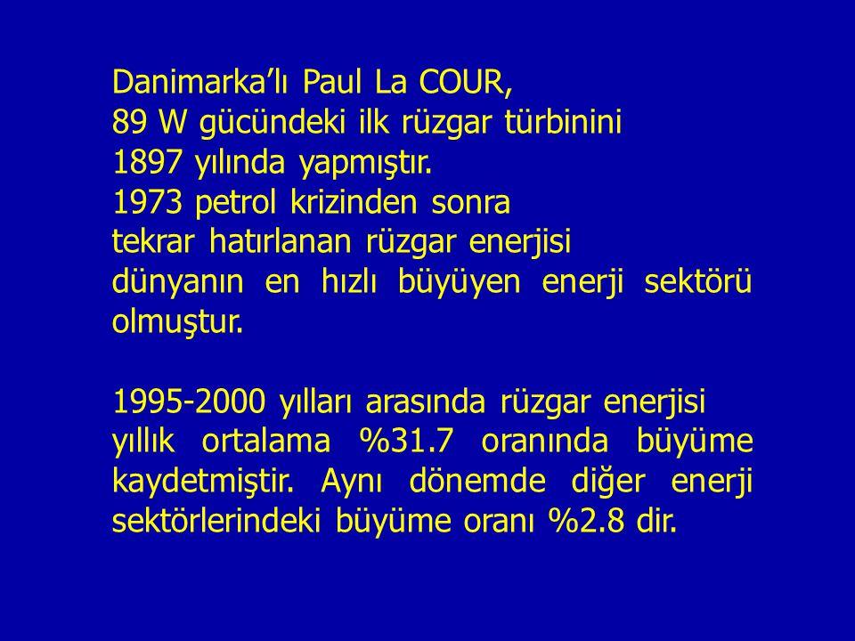 Danimarka'lı Paul La COUR,