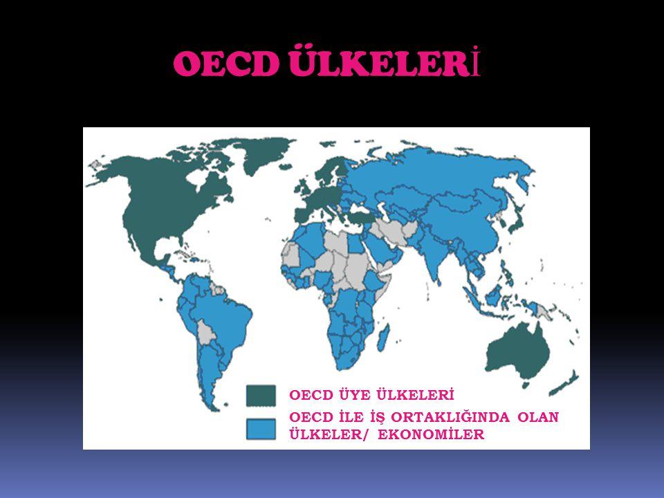 OECD ÜLKELERİ OECD ÜYE ÜLKELERİ