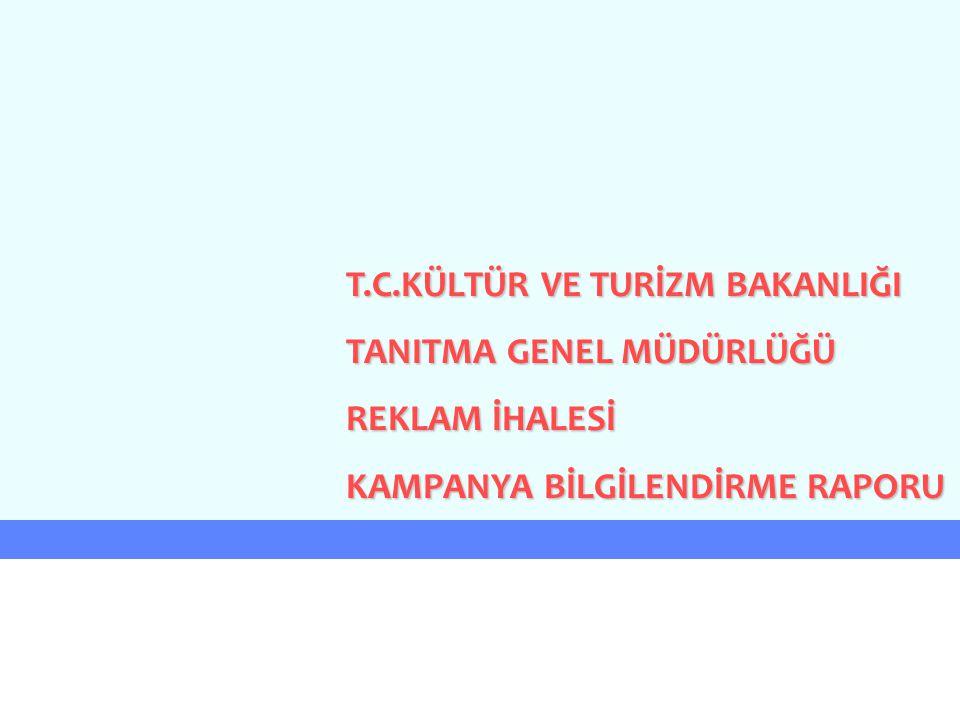 T.C.KÜLTÜR VE TURİZM BAKANLIĞI