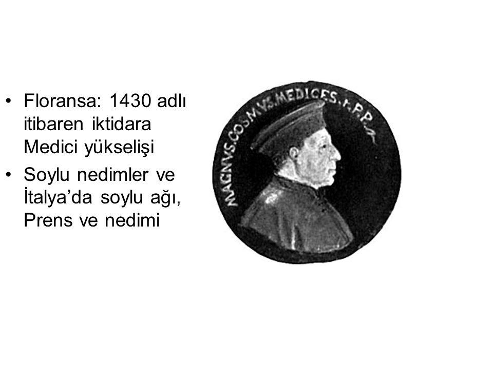 Floransa: 1430 adlı itibaren iktidara Medici yükselişi