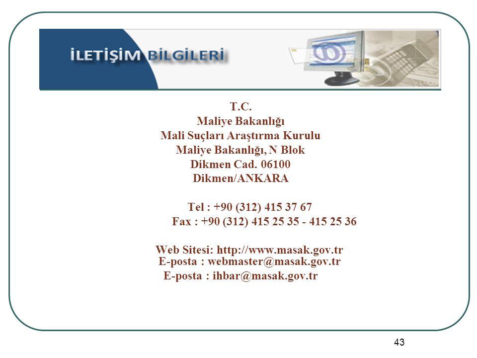 Mali Suçları Araştırma Kurulu Maliye Bakanlığı, N Blok