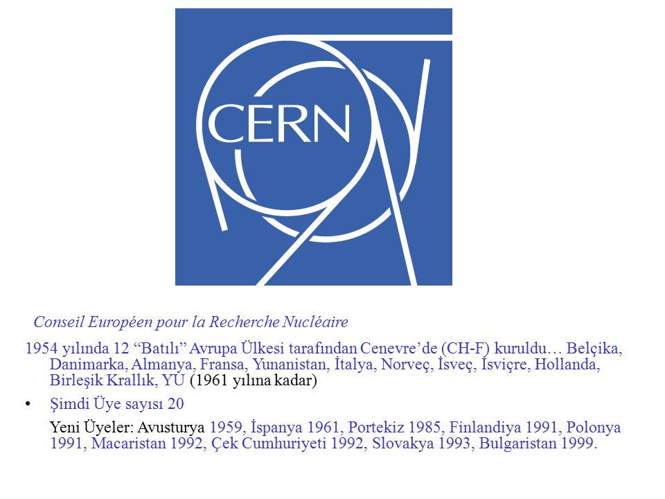 Conseil Européen pour la Recherche Nucléaire