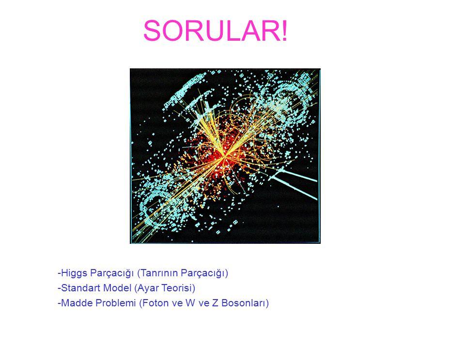 SORULAR! -Higgs Parçacığı (Tanrının Parçacığı)
