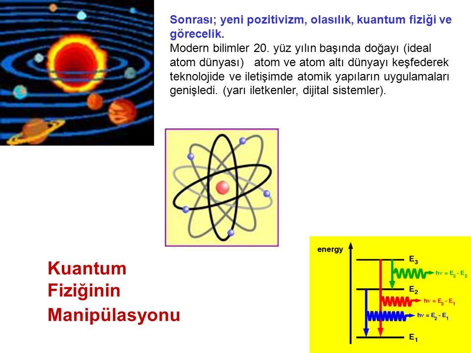 Kuantum Fiziğinin Manipülasyonu