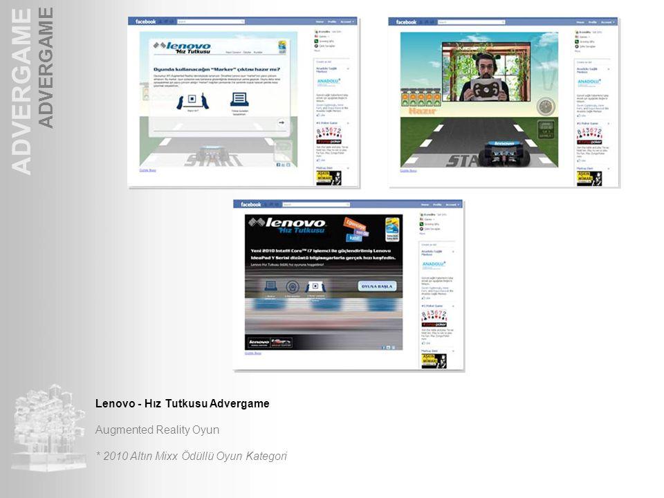 ADVERGAME ADVERGAME Lenovo - Hız Tutkusu Advergame