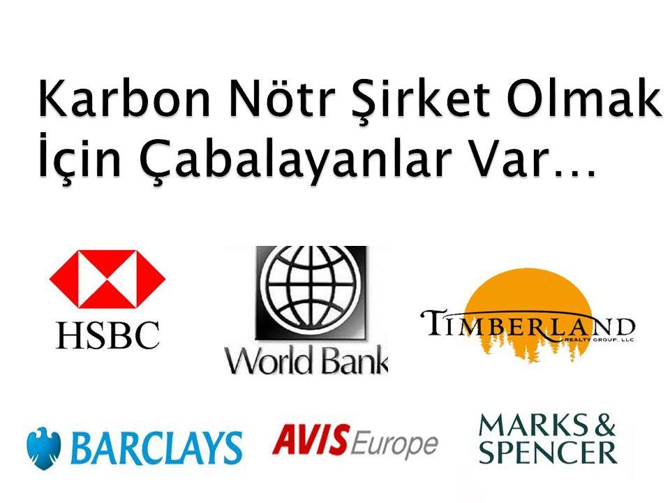Karbon Nötr Şirket Olmak İçin Çabalayanlar Var…