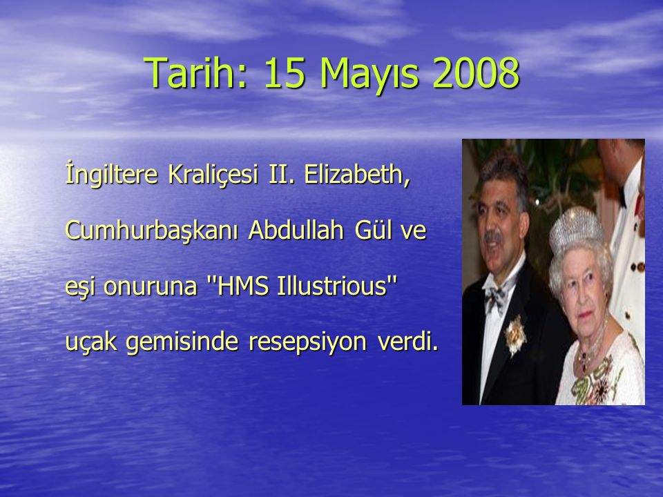 Tarih: 15 Mayıs 2008