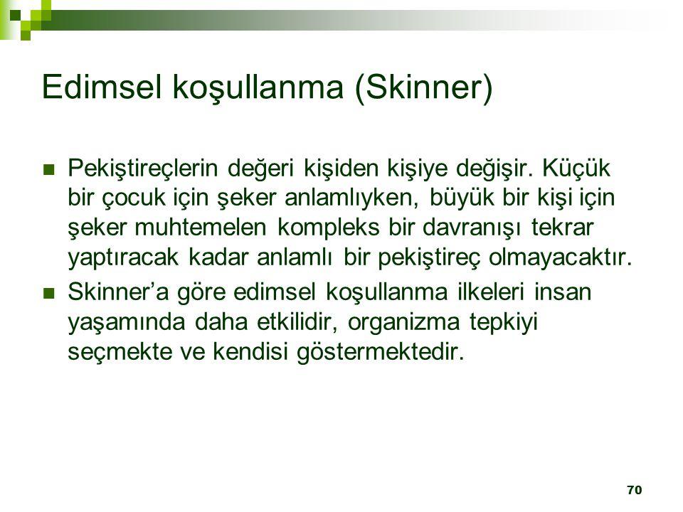 Edimsel koşullanma (Skinner)
