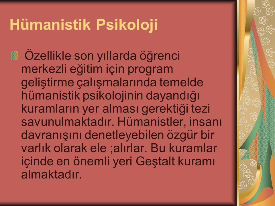 Hümanistik Psikoloji