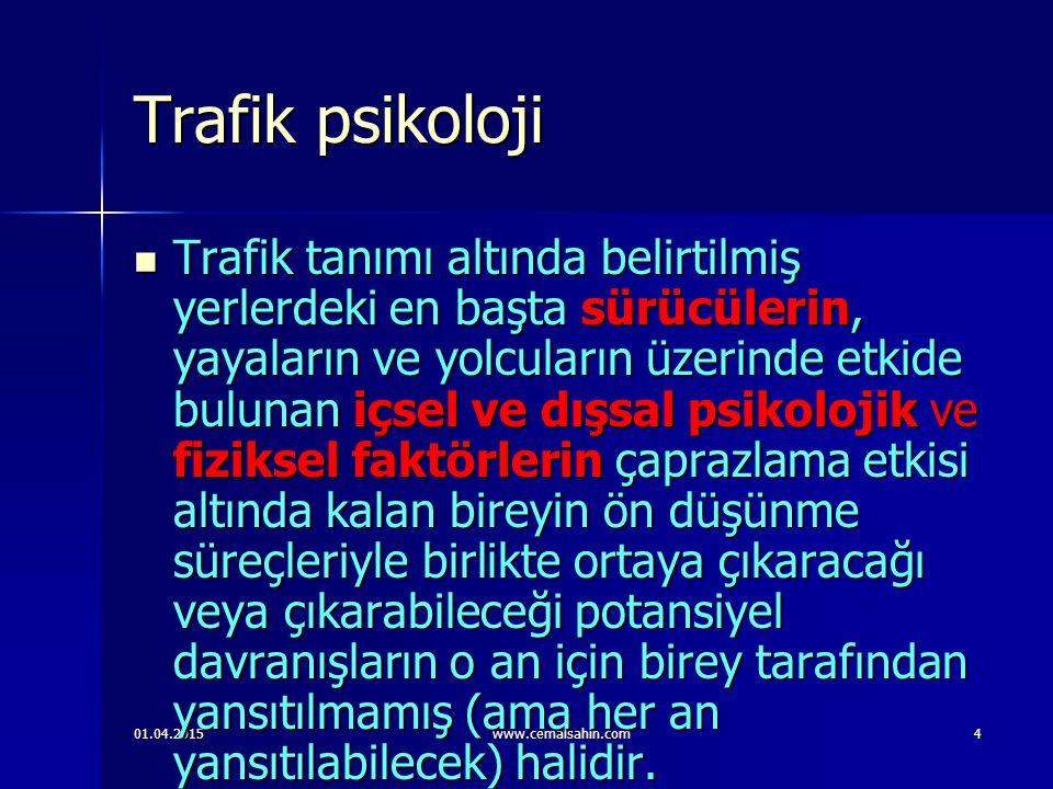 Trafik psikoloji