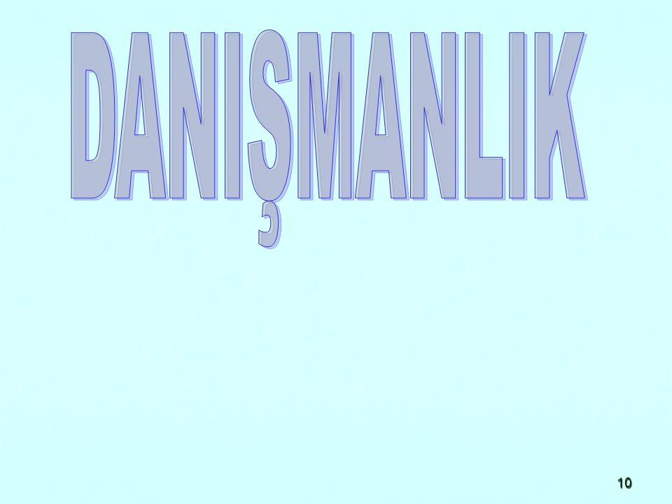 DANIŞMANLIK