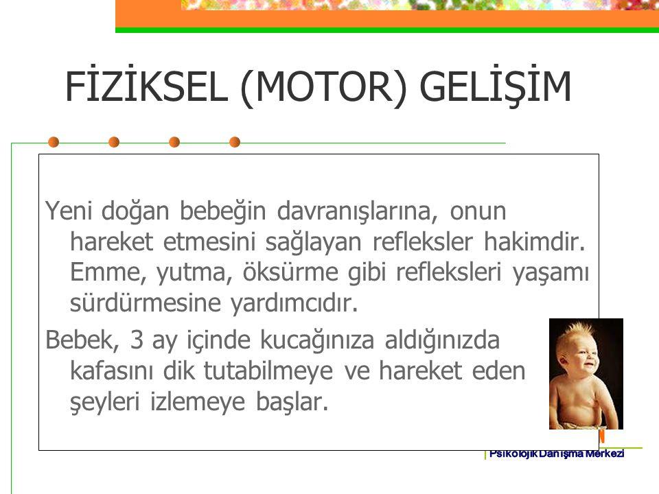 FİZİKSEL (MOTOR) GELİŞİM