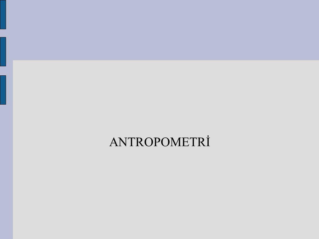 ANTROPOMETRİ