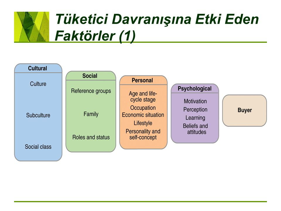 Tüketici Davranışına Etki Eden Faktörler (1)