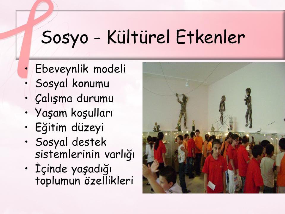 Sosyo - Kültürel Etkenler