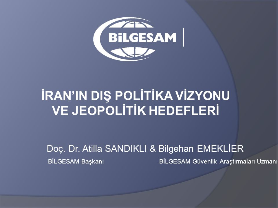Doç. Dr. Atilla SANDIKLI & Bilgehan EMEKLİER